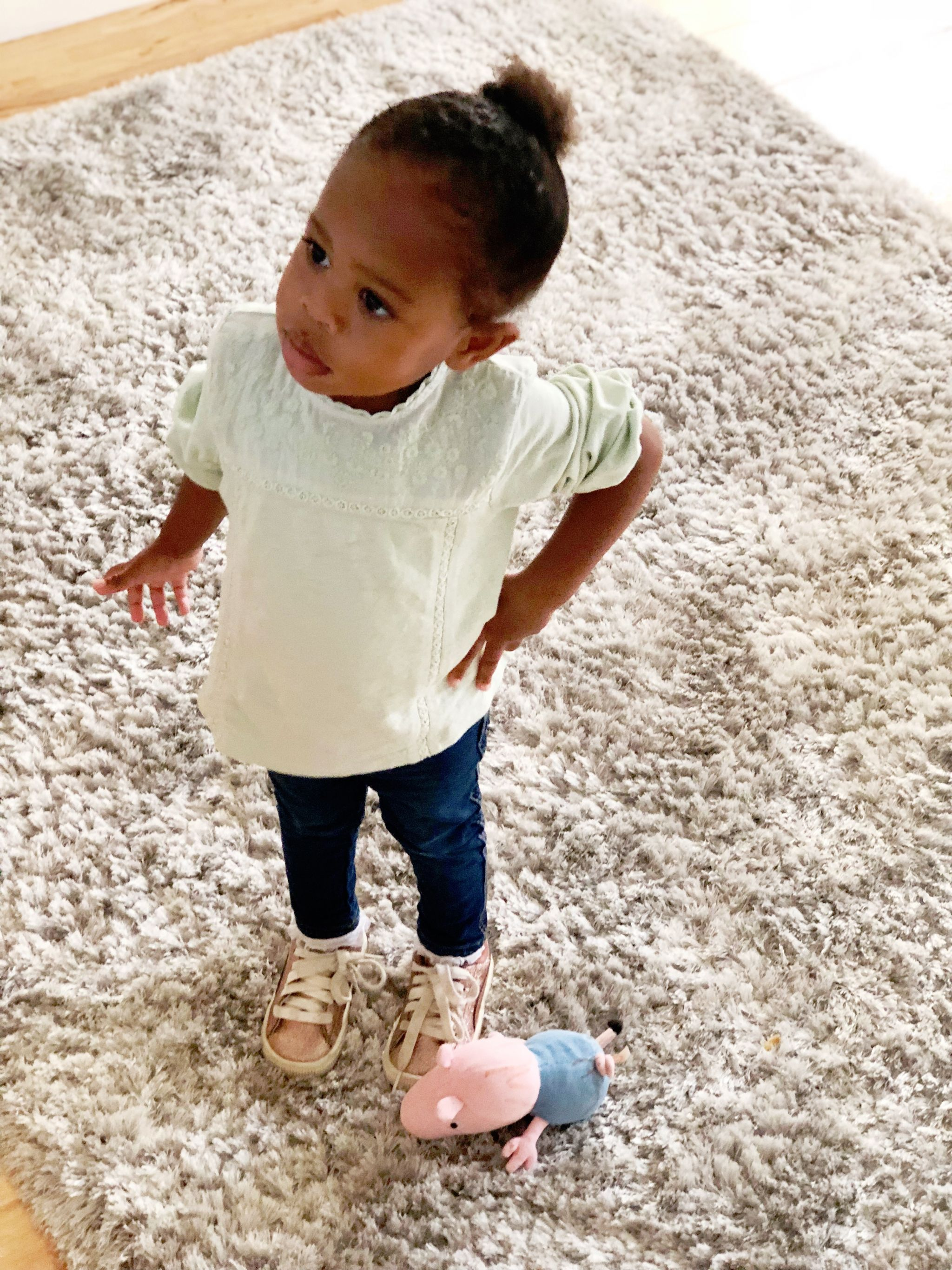 What Coco-Ivy wore to stay and play